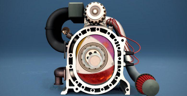Как работает роторный двигатель изнутри фото