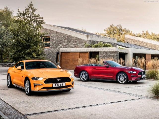 Ford Mustang 2017-2018 цена в России фото видео тест-драйв технические характеристики обновленного Мустанга отзывы