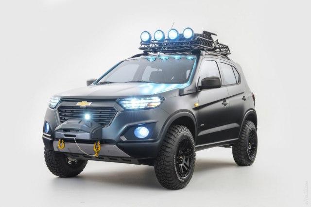 Шевроле Нива 2018  новый кузов цены комплектации фото видео тест-драйв
