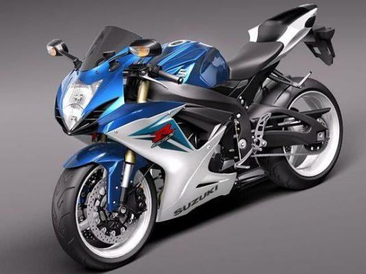 Мотоцикл Suzuki. Тюнинг