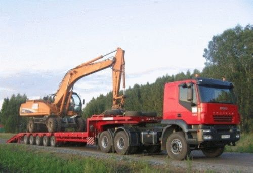 Перевозка негабаритных грузов в ДДСК фото
