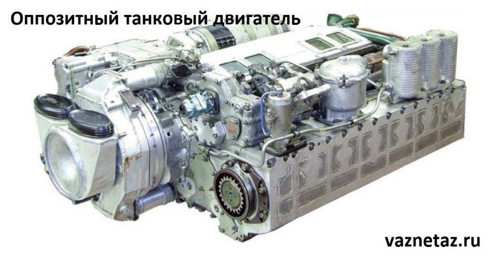 Танковые двигатели